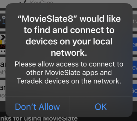 Image: iOS Local Network Privacy Permission Prompt