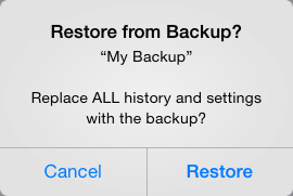 Image: MovieSlate Cloud Backup - Restored