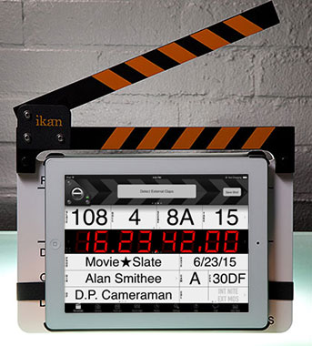 Image: ikan T-Slate clapperboard