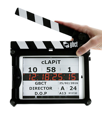 Image: cLAPiT clapperboard